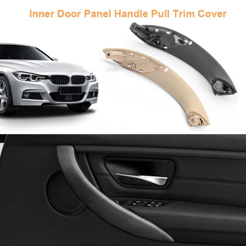 1Pcs Inner Door Panel Handle Pull Trim Cover Front Left for BMW 3Series F30 F35 Car Interior Door Handles Inner Trim Door Handle mesh panel striped trim top
