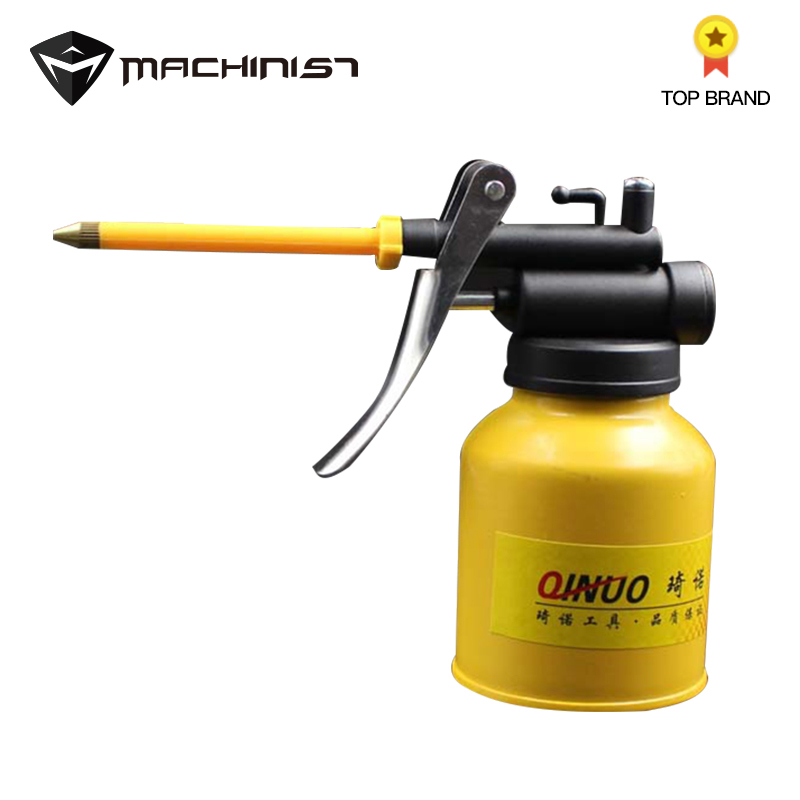 1pc 250g Spray Gun Hand Grease Gun Paint Spray Gun Oil Pump Cans Oiler Hose Grease Machine For Lubricating Airbrush Hand Tools