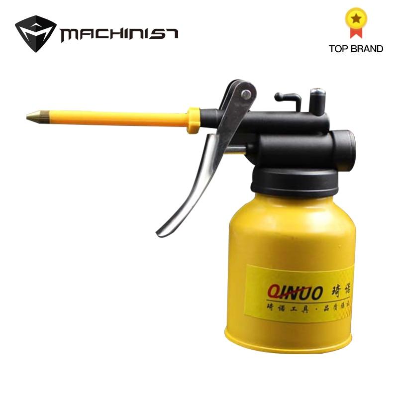 1pc 250g Spray Gun Hand Grease Gun Paint Spray Gun Oil Pump Cans Oiler Hose Grease Machine For Lubricating Airbrush Hand Tools