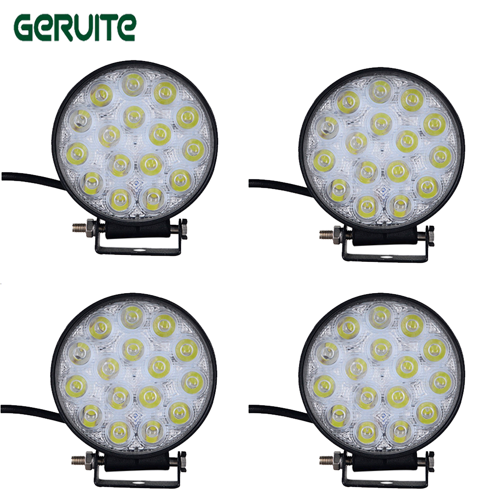 10tk 48W LED-indikaatorlampide töölamp 30 maastikul sõidetav - Autotuled