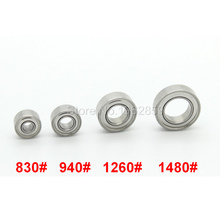 4pcs/set Bearing Dental Laboratory Handpieces Bearings for Micromotor STRONG Korea SEASHIN Lab
