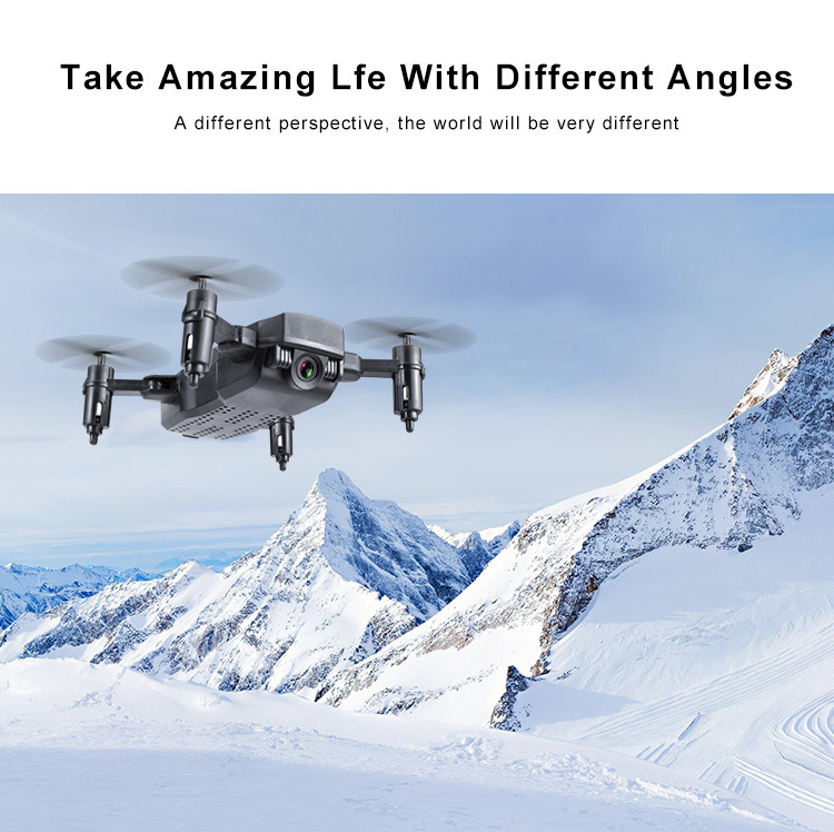 Image 5 - Mini  RC  Helicopter with Wide Angle HD Camera  Mini RC Drone with Camera Wifi FPV Foldable Altitude Hold Quadcopter-in RC Helicopters from Toys & Hobbies