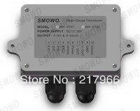 Free Shipping 1PCS Strain Gauge Amplifier Dual Signal Output 0 10V 4 20mA