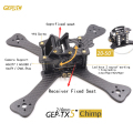 "4"" 5"" 6"" FPV Drone GEPRC GEP-TX 5 Chimp 180 210 230 Carbon Fiber X Quadcopter Frame with 4mm Arm For FPV QAV-X CHARPU QAV-R QAV"