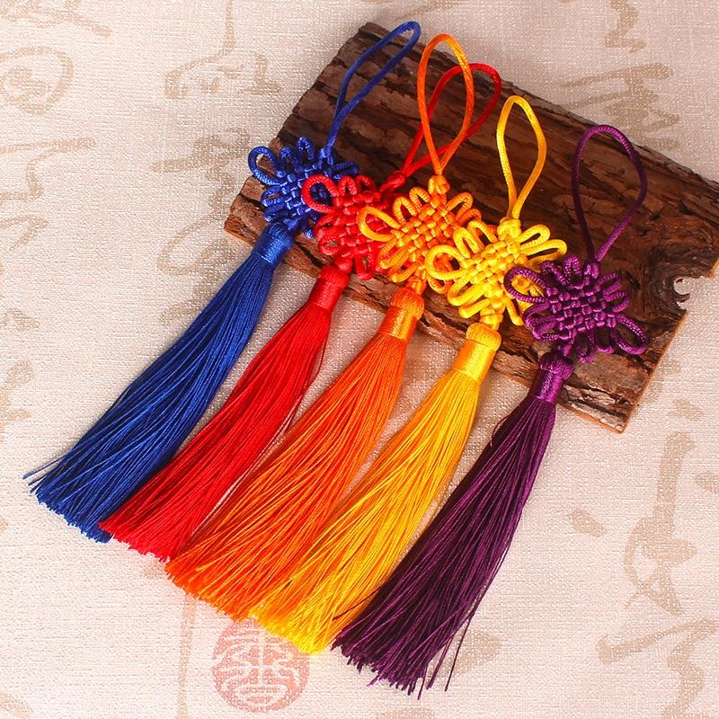 Ice Silk Tassels Trim Craft Jewelry Making DIY Pendant Tassel 32 Colors