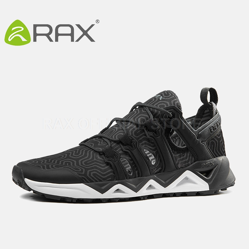 RAX Men Breathable Hiking Shoes Mens Outdoor Sneakers Trekking Walking Aqua Shoes Lightweight Sport Shoes Mountaineering Boots rax 2015 mens outdoor hiking shoes breathable mesh suede trekking shoes men genuine leather sneakers size 39 44 hs25