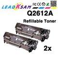 Refill kompatibel Q2612A q2612 2612a 12a 2612 Toner Patrone für LaserJet LJ 1010 1020 1015 1012 3015 3020 3030 3050