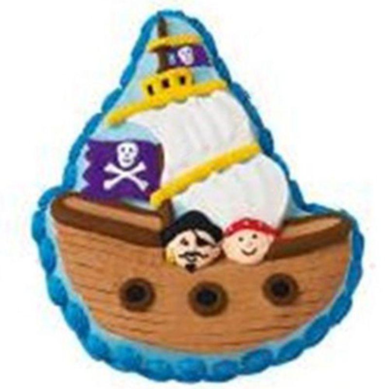 Pastel de cumpleaños decoración barco pirata del Caribe para hornear ...