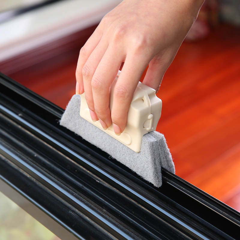 Window Groove Cleaning Tool For Window Groove Tool Small Brush Cleaning Window Sill Gap Brush