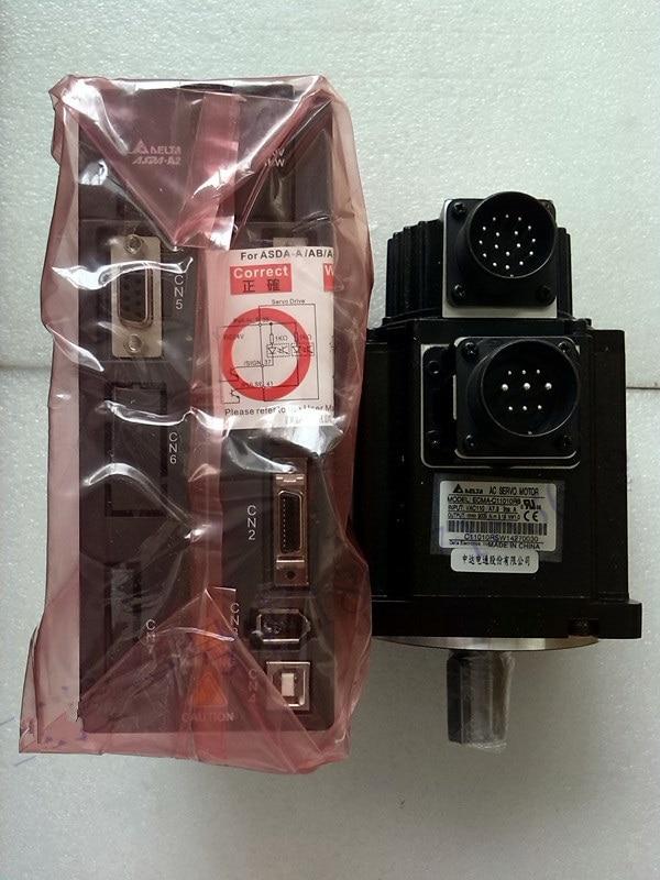 ECMA-F11308SS+ASD-A2-1021-L DELTA brake AC servo motor driver kits 0.85kw 1500rpm 5.41Nm 130mm frame