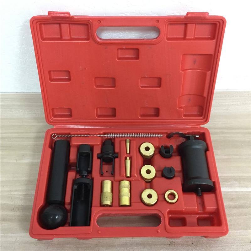 Prokomon 18PC Injector Removal Puller Tool Kit Puller Installer Tool Set for VAG VW Seat Skoda