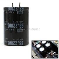 ממד 35x50mm גלילי 63V 22000UF אלומיניום אלקטרוליטי קבלים 105 תואר S08 סיטונאי & DropShip|degree|   -