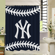1 Piece 180×180 Waterproof Mildewproof 3D Polyester Shower Curtain Decor With Different Pattern And Alphabet  SL