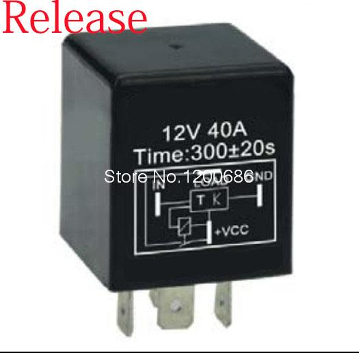 5 minutes delay relay Automotive 12V Time Delay Relay SPDT 300 second delay release off relay 2015 new arrival 12v 12volt 40a auto automotive relay socket 40 amp relay