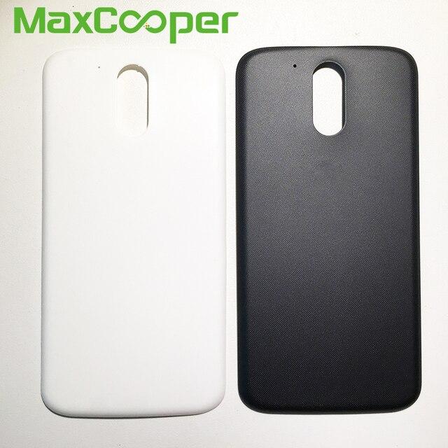 pretty nice 76a42 22c3f US $3.98 |Top Quality For Motorola Moto G4 Plus XT1640 XT1641 XT1642 XT1643  XT1644 Battery Cover Rear Back Housing Door -in Mobile Phone Housings from  ...