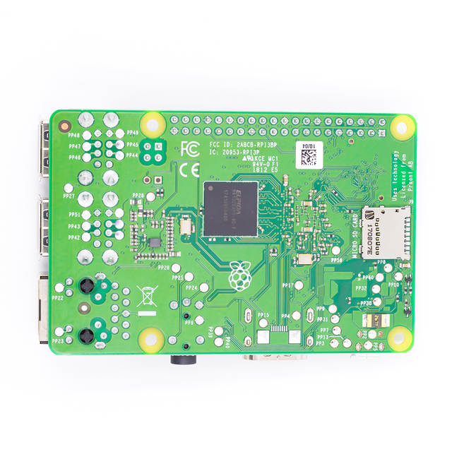 US $44 55 10% OFF Raspberry Pi 3 Model B+ 2018 New Arrival In Stock  Raspberry Pi 3 B Plus 1 4GHz 64 bit Processor RPi 3 B+-in Demo Board  Accessories
