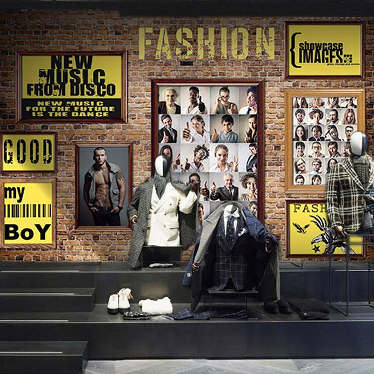 be9aeeb45a2 Пользовательские 3D фото обои древний британский стиль обои Для мужчин  магазин модной одежды одежда магазине спальня росписи обоев купить на  AliExpress