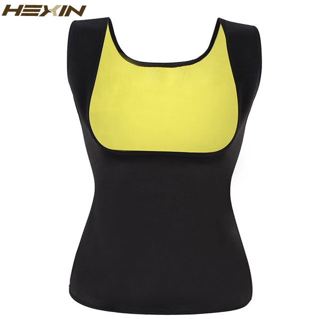 HEXIN Neoprene Vest Slimming Vest Waist Trainer Corset