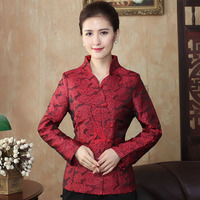 Brand New Arrival Chinese Tradition Women's Coil Button Peacock Jackets Coat M L XL XXL 3XL 4XL WNJT10014