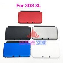 Tapa inferior A & E placa frontal para 3DS LL XL carcasa frontal trasera funda