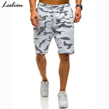 Leelion 2018 Summer Fashion Camouflage Short For Men Sweatpants Fitness Casual Men's Short Bermuda Masculina Loose Shorts Man