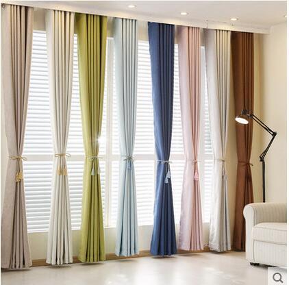 Tamaño personalizado cortina envío gratis! Shading Rate 85% - Textiles para el hogar