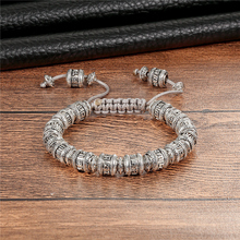 Retro Buddhist Men's Bracelet