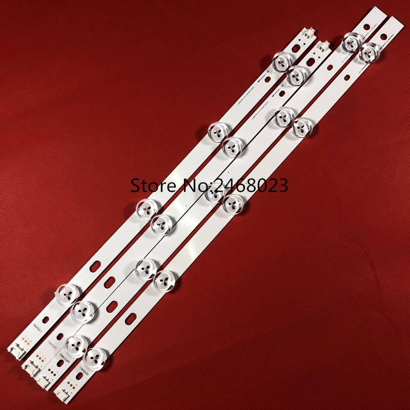 Computer & Office New 5set=50 Pcs Led Backlight Strip Replacement For Lg T420hvn05.2 Innotek Pola2.0 42 Inch A B Pola 2.0 42 Punctual Timing