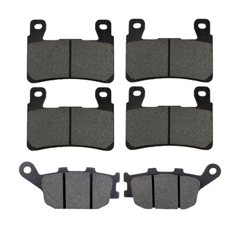 Motorcycle Front and Rear Brake Pads for Honda XL 700 Transalp 08-11 CB 600 CB600 Hornet 600 07-12 CBF500 CBF 500 04-07 image