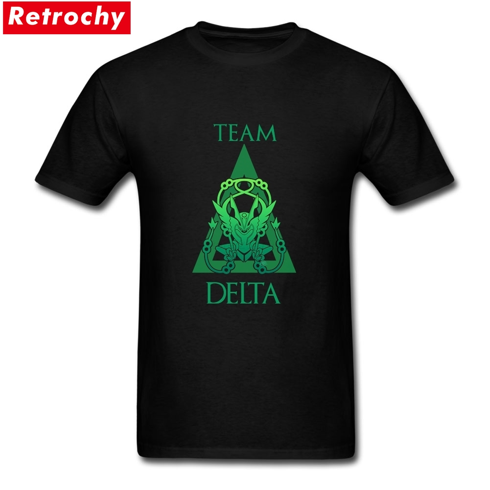 2017 Elegant Team Delta Funny T Shirts Mens Short-Sleeved Youth Guy Tee Soft Cotton Merchandise