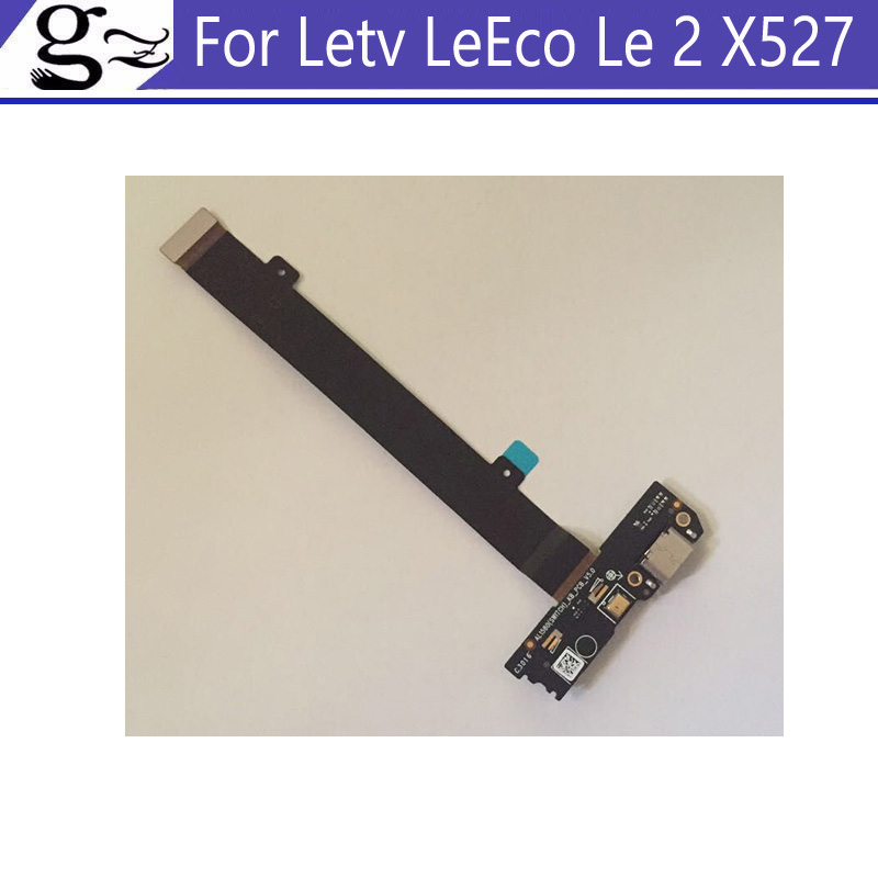 2pcs For Letv LeEco Le 2 X527 USB Dock Charging Port Mic Microphone Module Board Replacement For Letv LeEco Le 2 X527 Tested