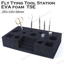 Maximumcatch Fly Tying Caddy EVA Foam tools oganizer Fly Tying Tool Station(Without Tools)