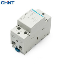 CHINT Guide Type Two Normally Open 2P 40A Household Small-sized Single-phase Communication Contactor NCH8-40/20 220V  цены