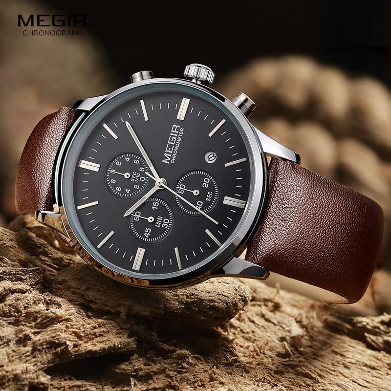 Megir quartz ρολόγια ανδρών φωτεινό - Ανδρικά ρολόγια - Φωτογραφία 2