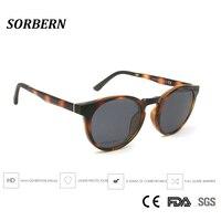 SORBERN Men Women Polarized Clip On Sunglasses Magnetic Round Ultem Memory Eyeglasses Frame Magnetic Sun Glass Driving Spectacle
