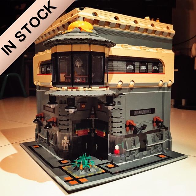 Creator The Dinosaur Museum MOC 15015 5003Pcs Street View Model Building Kits Blocks Bricks Education Toys