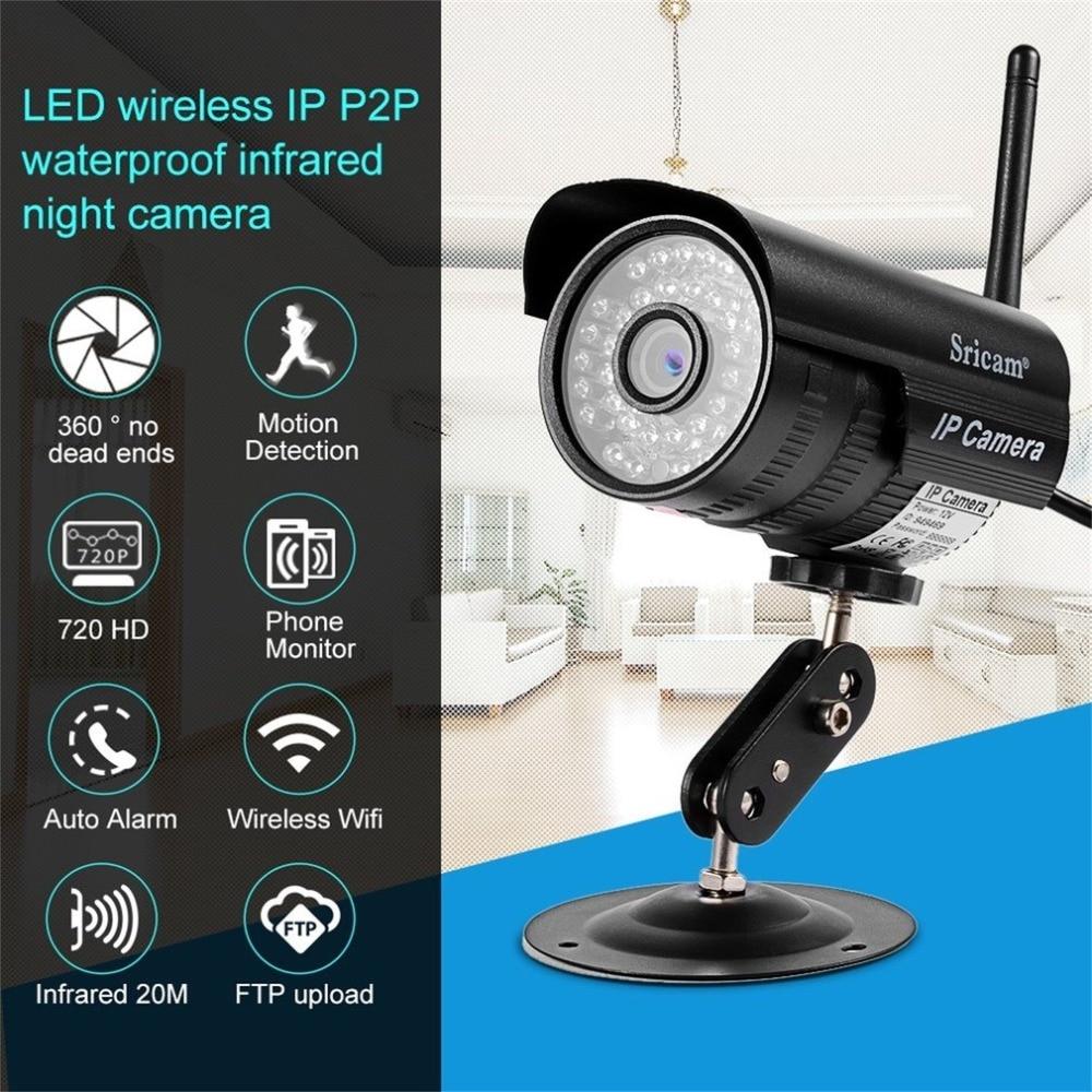 Sricam SP013 HD 720P IP Camera Infrared Wireless Security CCTV Camera H.264 WIFI Night Vision Motion Detection IR LED Len Onvif пантина и синчуков а вычислительная математика учебник