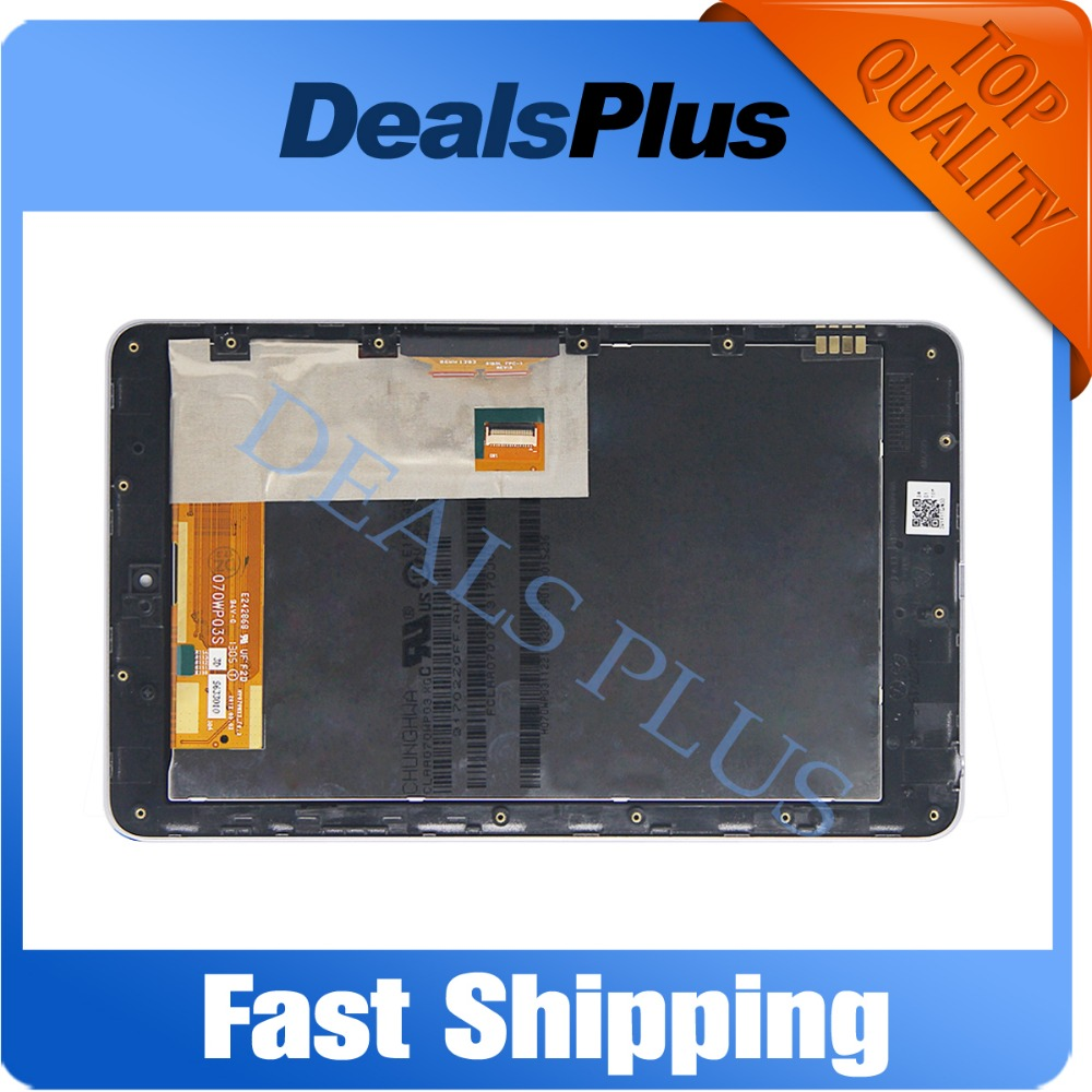 Replacement New LCD Display + Touch Screen + Frame Assembly For Asus Google Nexus 7 Nexus7 2012 ME370T ME370 ME370TG Wifi Black high quality lcd display touch digitizer screen with frame for asus google nexus 7 nexus7 2012 me370tg nexus7c 3g version