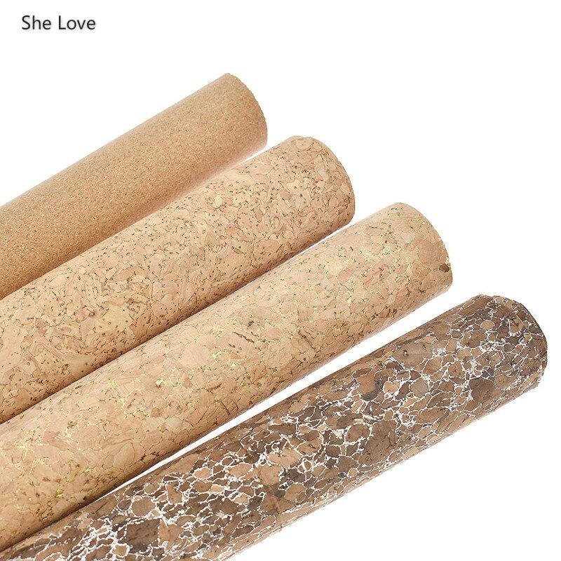 Chzimade, 21x135 см, натуральная мягкая пробковая кожаная ткань, винтажные Швейные материалы для изготовления бантов, сумок, обуви