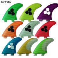 Green FCS G5 Surf Fins Surfboard Fins Fcs Fiberglass Surf Fins Future Fins With Top Quality