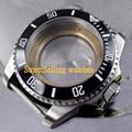 43mm de Acero Inoxidable Caja Del Reloj de cristal de zafiro ETA 2836 Movimiento C09