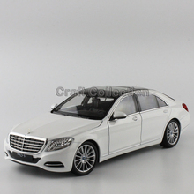 White 1 24 S Class W222 S500 Alloy Model Car Diecast Miniature Model Children Toys
