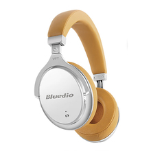 Bluedio auriculares F2 auriculares inalámbricos con Bluetooth con cancelación activa de ruido, estéreo, Hifi, para música, micrófono, llamada
