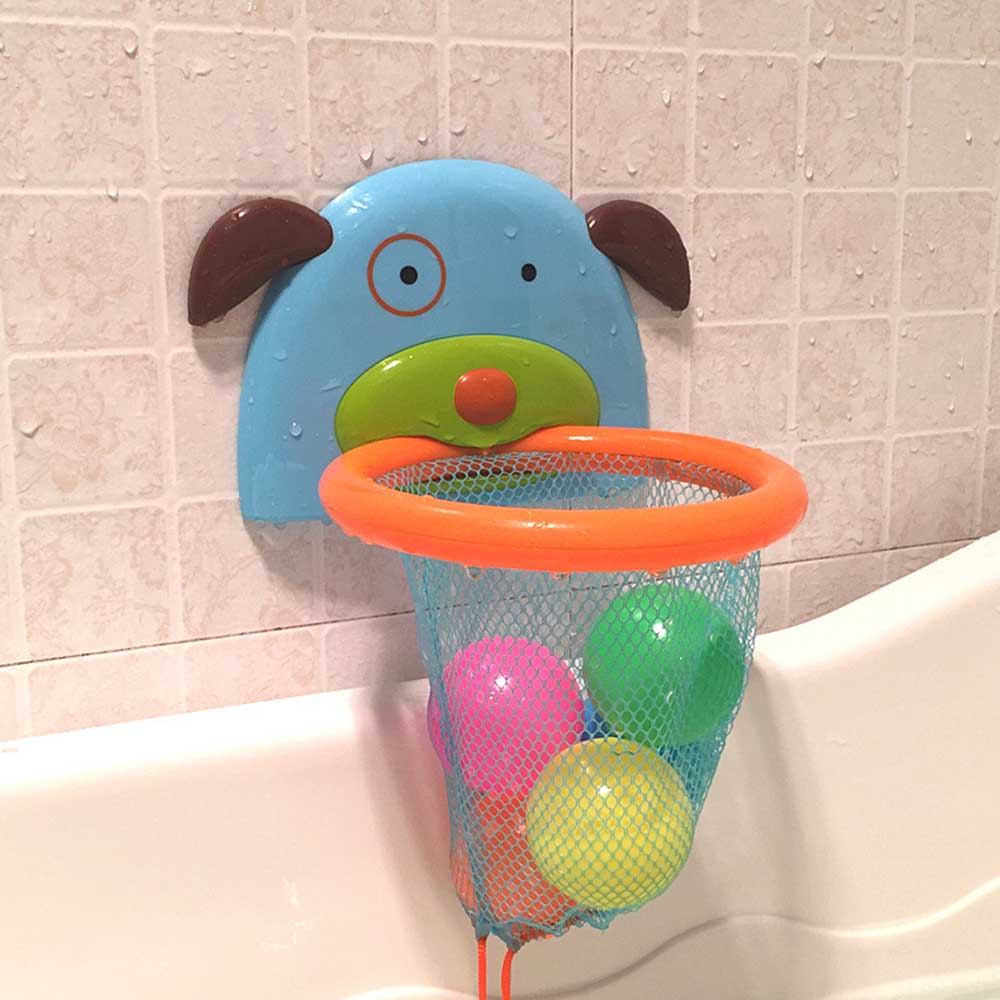 Baby Bath Marine Play Water Throw Basket Basketball Toys Children Baby Bathroom Bath Shower Water Toys Shooting Kids Bath Toys