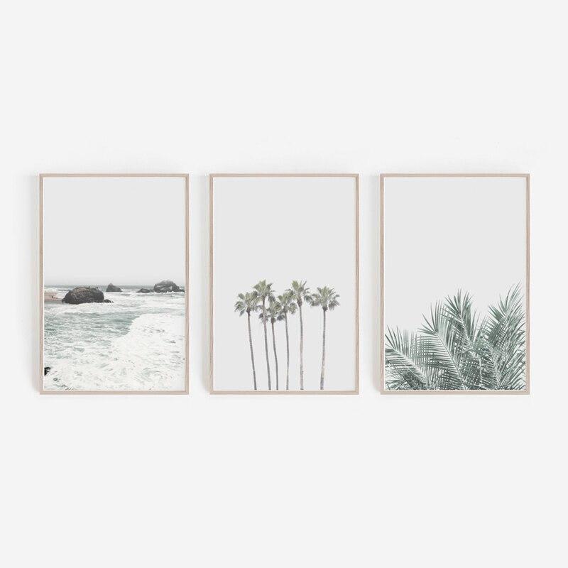 Beach Print Palm Trees Prints