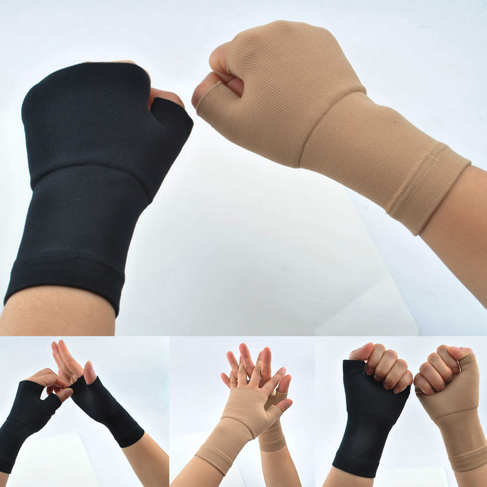 Image 2 - 2PCS Gloves Compression Sleeve Medical Wrist Support Muscles 