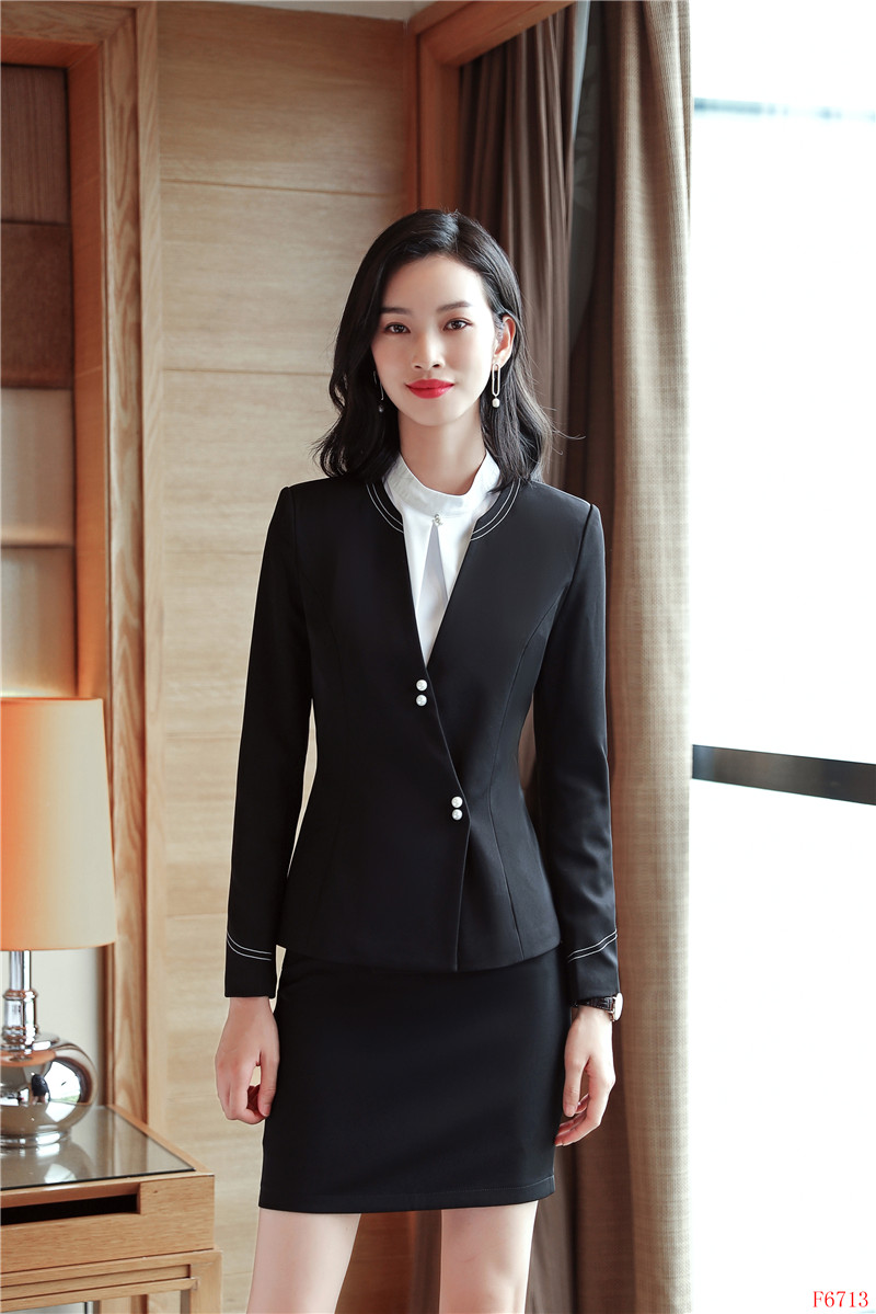 Ladies Navy Blue Blazer Women Business Suits Formal Office Suits Work Wear Uniforms Pant And Jacket Sets Ol Styles Back To Search Resultswomen's Clothing
