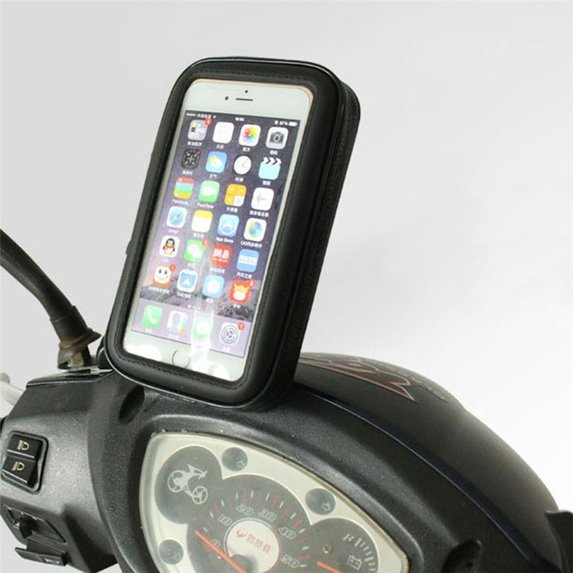 Водонепроницаемый Мотоцикл велосипед Руль управления для мотоциклов крепление чехол для <font><b>iPhone</b></font> 7 4.7 дюймов Прямая поставка 0725