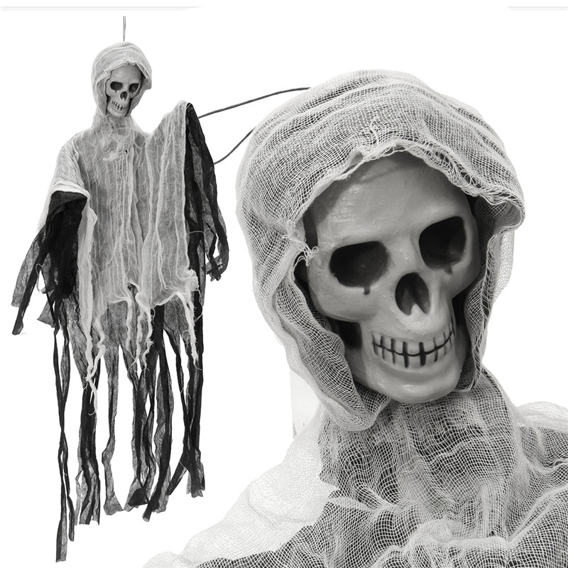 Spooky Creepy Halloween Party Scary Skull Doll Haunted