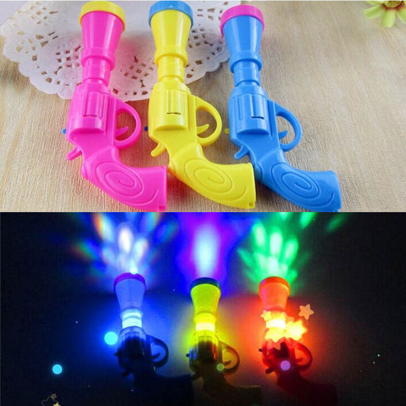 2018 Novelty LED Flashing Projector Toys Children Kids Light Up Toy Gift Birthday Party Favor Supplies